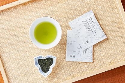 京都産の特上煎茶と直火焙煎ほうじ茶