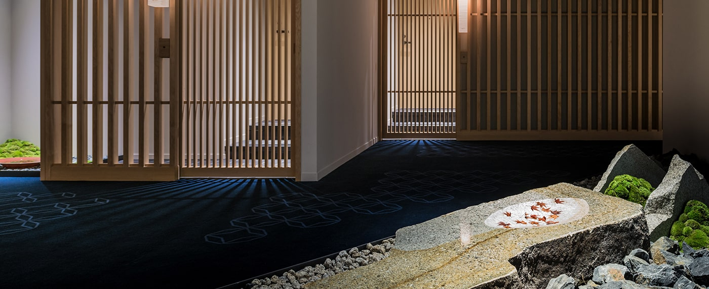 ホテルカンラ京都 茶器